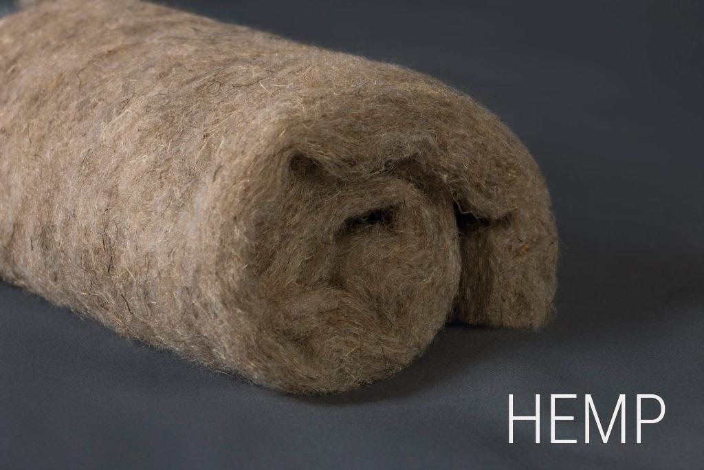 Купить подушки, одеяла, наматрасники из конопли HEMP LINE